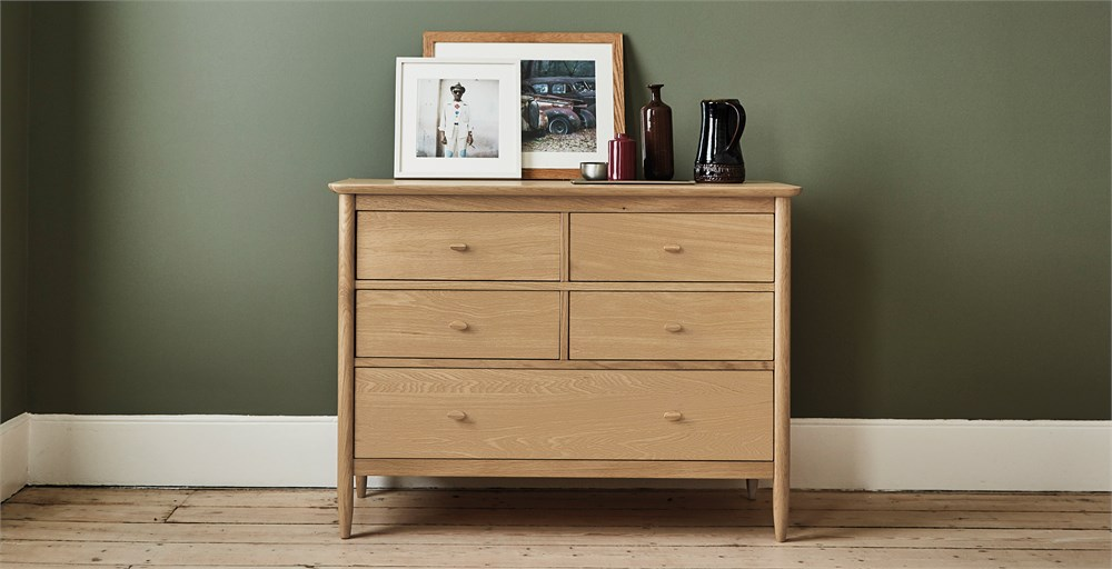 Teramo 5 Drawer Wide Chest